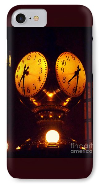 Grand Old Clock - Grand Central Station New York IPhone Case by Miriam Danar