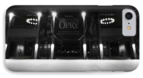 Grand Ole Opry At Night Phone Case by Dan Sproul