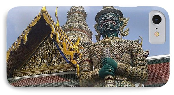 Grand Palace Thailand IPhone Case by Ted Williams