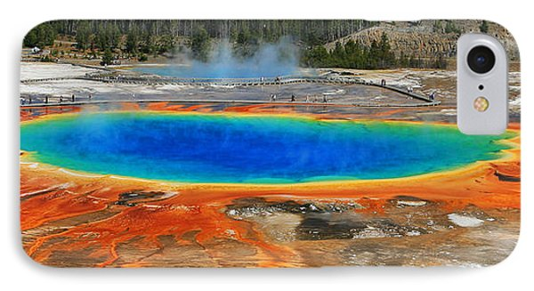Grand Prismatic Spring IPhone Case by Clare VanderVeen