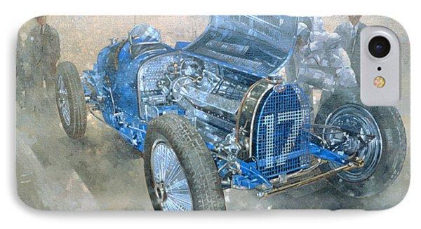 Grand Prix Bugatti IPhone Case by Peter Miller
