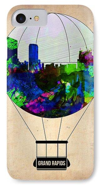 Grand Rapids Air Balloon IPhone Case by Naxart Studio