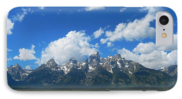 IPhone Case featuring the photograph Grand Teton National Park by Janice Westerberg