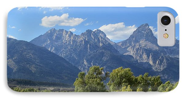 Grand Tetons Phone Case by Diane Mitchell