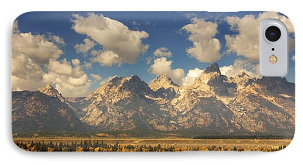 IPhone Case featuring the photograph Grand Tetons by Sonya Lang