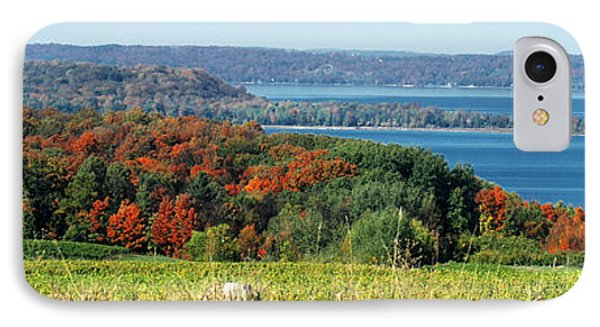 Grand Traverse Winery Lookout Phone Case by Optical Playground By MP Ray