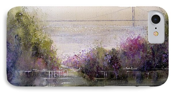 Grand View Mackinac Bridge IPhone Case