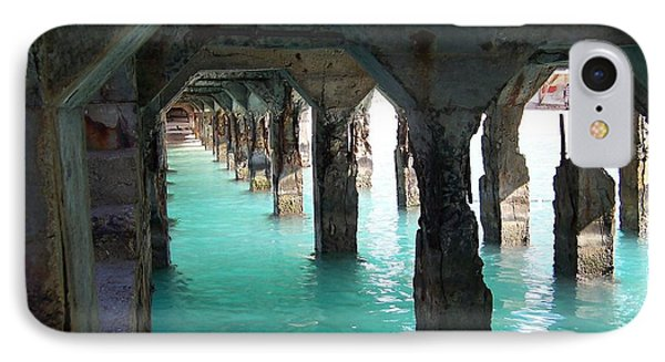Grande Casse Pier IPhone Case by David and Lynn Keller