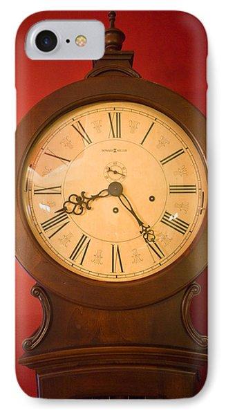 Grandfather Clock Top 1 Phone Case by Douglas Barnett
