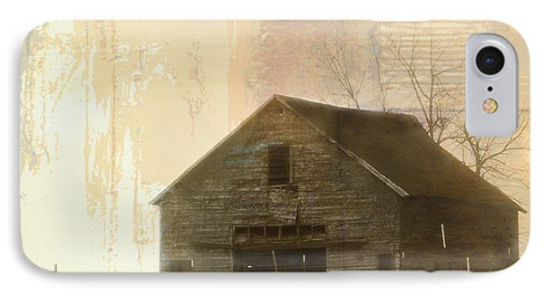 Grandfather's Barn IPhone Case by Lena Wilhite