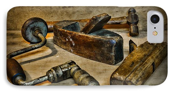 Grandfathers Tools Phone Case by Paul Ward