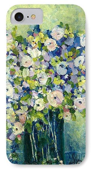 Grandma's Flowers Phone Case by Sherry Harradence
