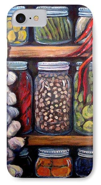 Grandma's Pantry IPhone Case by Gretchen Allen