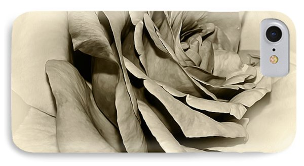 Grandma's Rose IPhone Case by Kaye Menner
