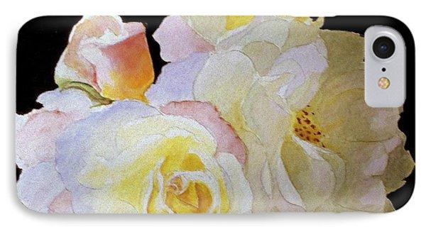 Grandmas Roses Of Color IPhone Case by Carol Grimes