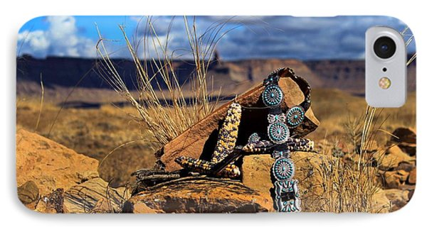 Grandmother's Belt IPhone Case by Chelsea Begay