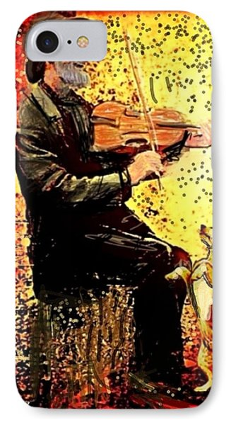 The Music Lover. Phone Case by Larry Lamb