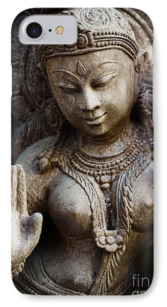 Granite Indian Goddess IPhone Case