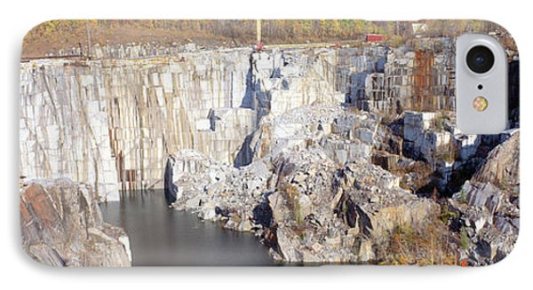 Granite Quarry, Barre, Vermont IPhone Case by Panoramic Images