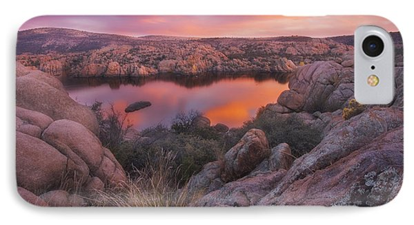 Granite Sorbet IPhone Case by Peter Coskun