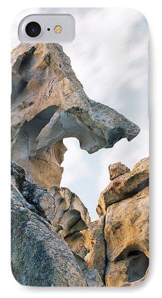 Granite Texture IPhone Case by Leland D Howard