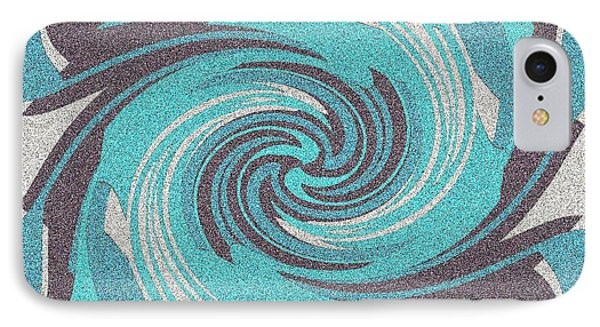 IPhone Case featuring the digital art Granite Tile 1 by Brian Johnson