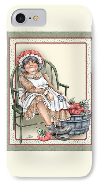 Granny Rag IPhone Case by Beverly Levi-Parker