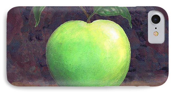Granny Smith Apple Two Phone Case by Linda Mears