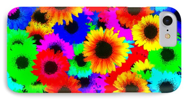 Granny's Garden Colorful IPhone Case by Holley Jacobs