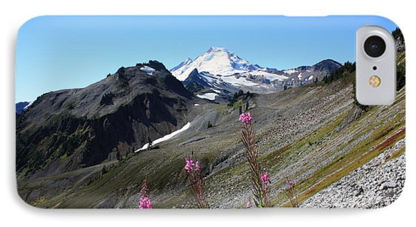 Grant Peak Of Mount Baker IPhone Case