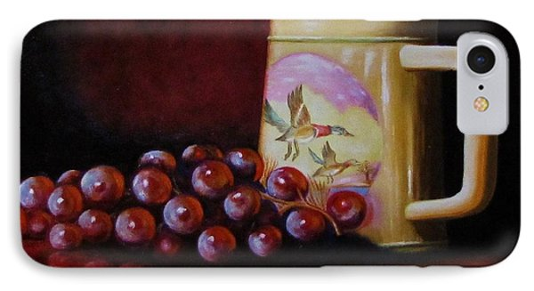 Grape Expectations IPhone Case by Gene Gregory