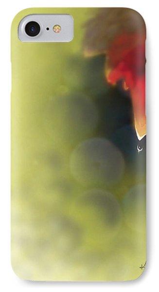 Grape Leaf Water Drop Phone Case by Kume Bryant