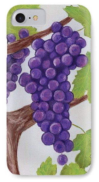 Grape Vine IPhone Case by Anastasiya Malakhova