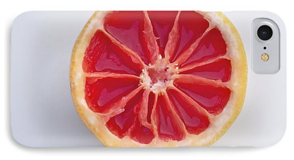 Grapefruit Mandala IPhone Case by Sean Griffin