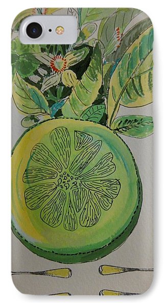 Grapefruit Phone Case by Olivier Calas