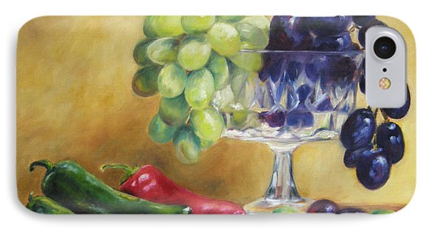 Grapes And Jalapenos IPhone Case