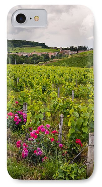 IPhone Case featuring the photograph Grapes And Roses by Allen Sheffield