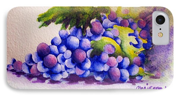 Grapes Phone Case by Chrisann Ellis