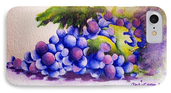 Grapes IPhone Case by Chrisann Ellis