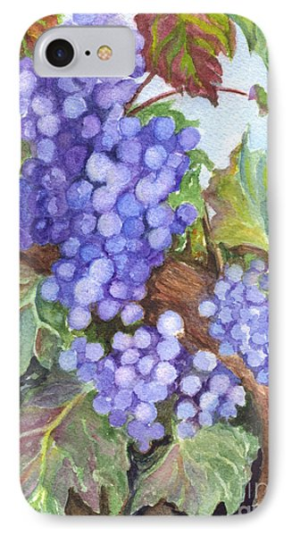 Grapes For The Harvest Phone Case by Carol Wisniewski