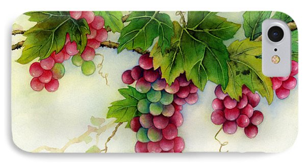 Grapes IPhone Case by Hailey E Herrera