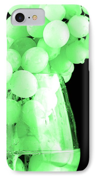 Grapes In Green Tone IPhone Case