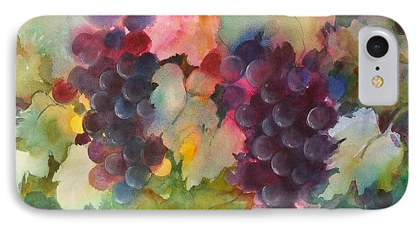 Grapes In Light IPhone Case by Michelle Abrams