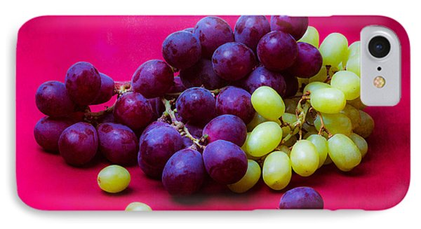 Grapes White And Red Phone Case by Alexander Senin