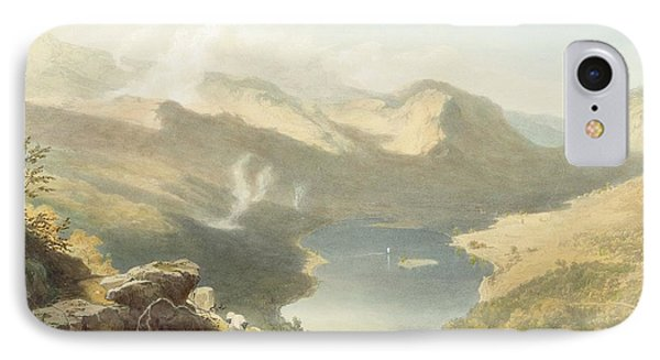Grasmere From Langdale Fell, From The Phone Case by James Baker Pyne