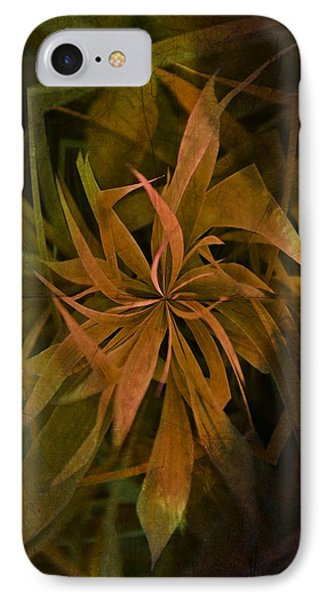 Grass Abstract - Earth IPhone Case by Marianna Mills