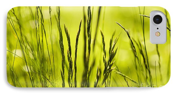 Grass Abstract Phone Case by Svetlana Sewell