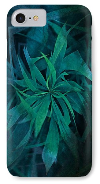 Grass Abstract - Water IPhone Case by Marianna Mills