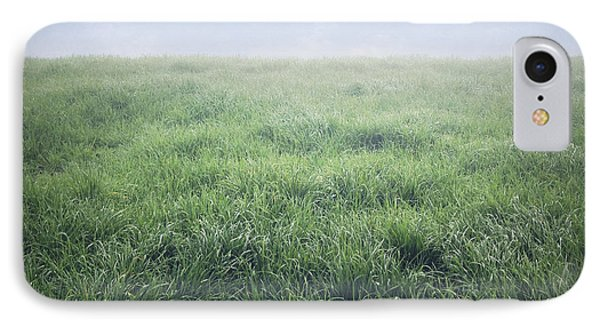 Grass And Sky  IPhone Case by Les Cunliffe