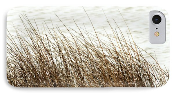 Grass Down By The Shore Of Virginia Beach Phone Case by Artist and Photographer Laura Wrede